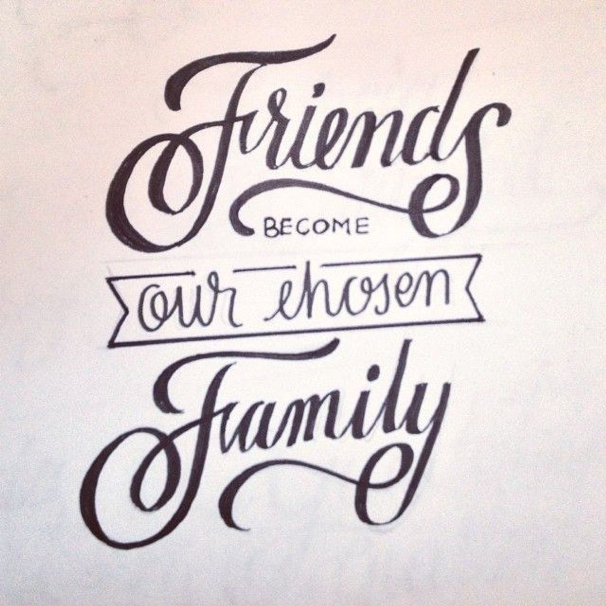 5 Reasons Your Friends Are Your Family