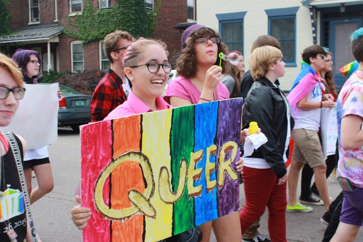 "To Be ""Queer"": A Brief Linguistic History"