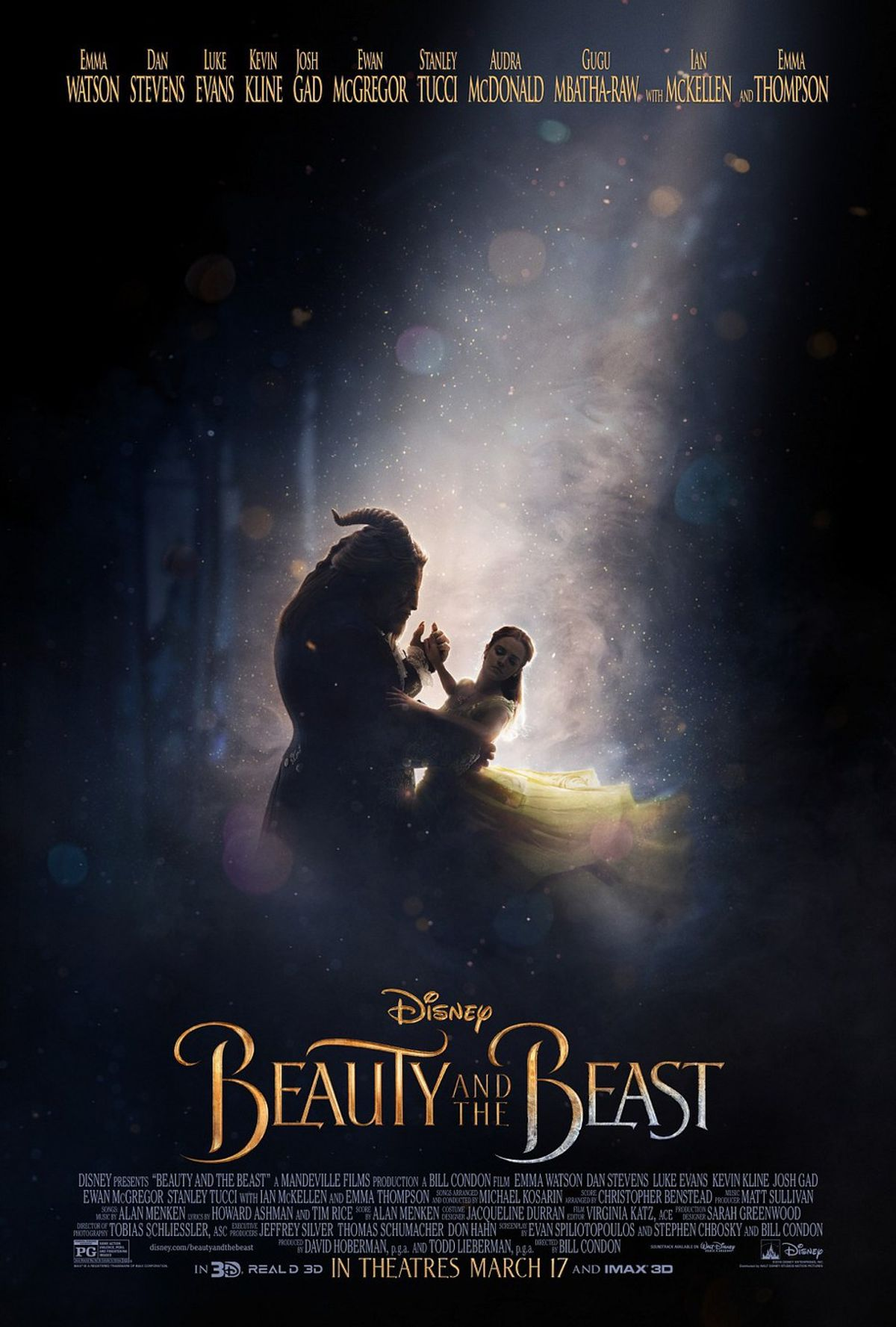 Beauty and the Beast Trailer Beats Fifty Shades and Star Wars for Most Views