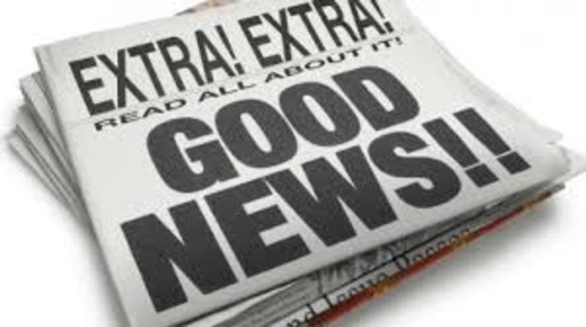 Five Quick Positive News Stories