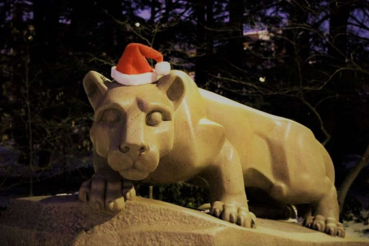 The 15 Best Scenes Of Winter At Penn State