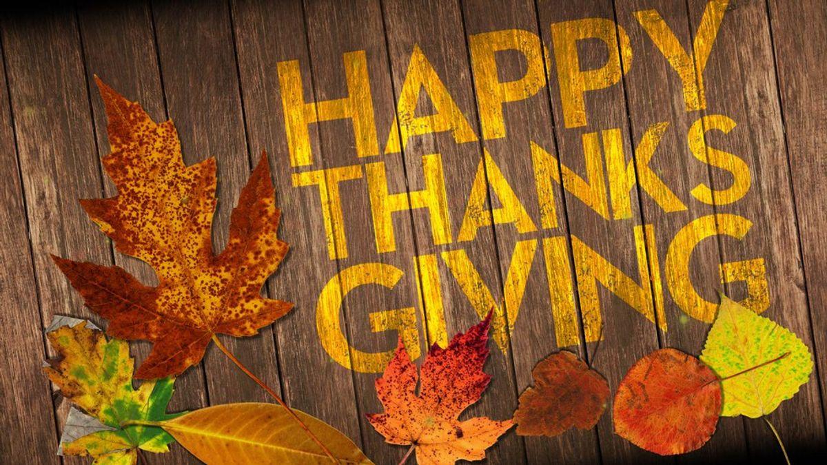 5 Reasons I'm Thankful This Thanksgiving