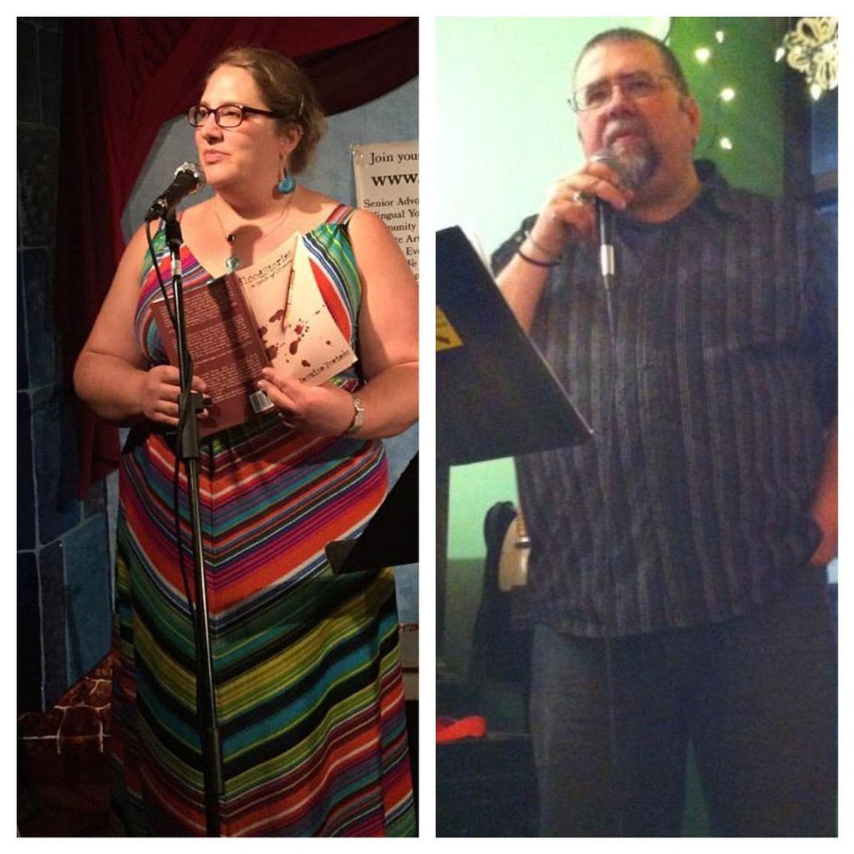 Poets of the Week: Jenuine Poetess and Tony Brown