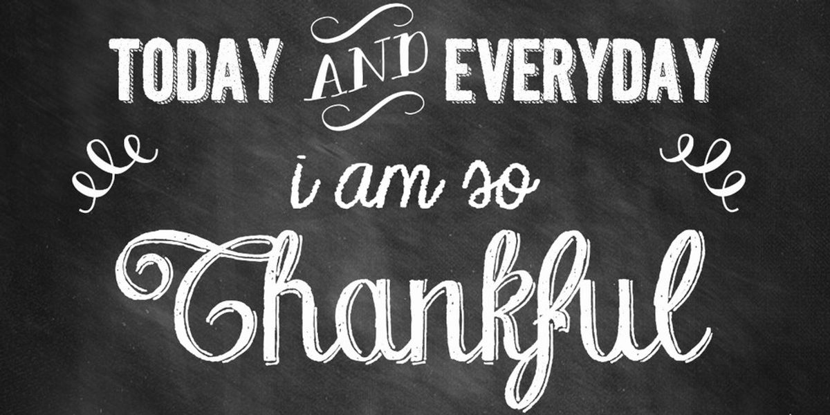 15 Things That I Am Thankful For Everyday
