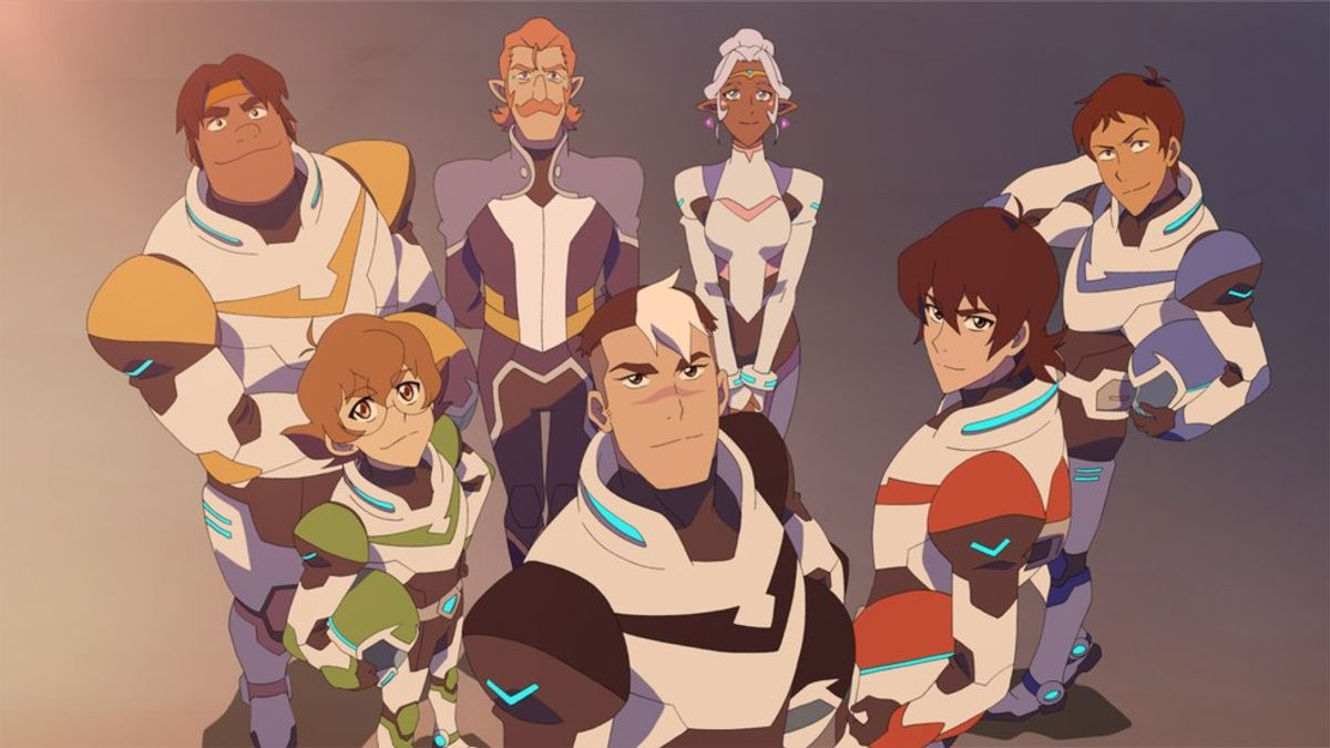 Dead Week As Told By Voltron Gifs