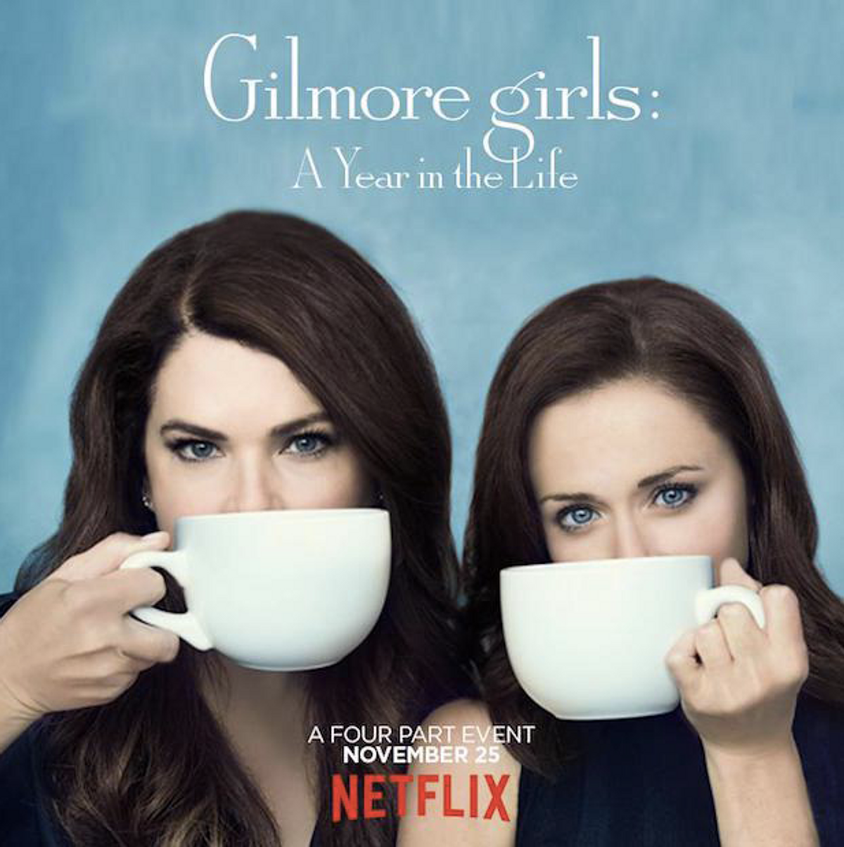 42 Thoughts While Watching Gilmore Girls: A Year in the Life
