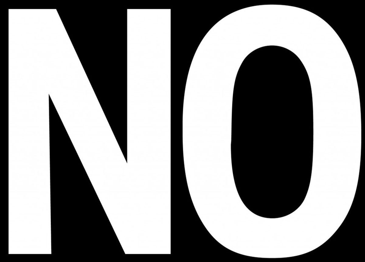 """How I Learned To Say """"No"""""""