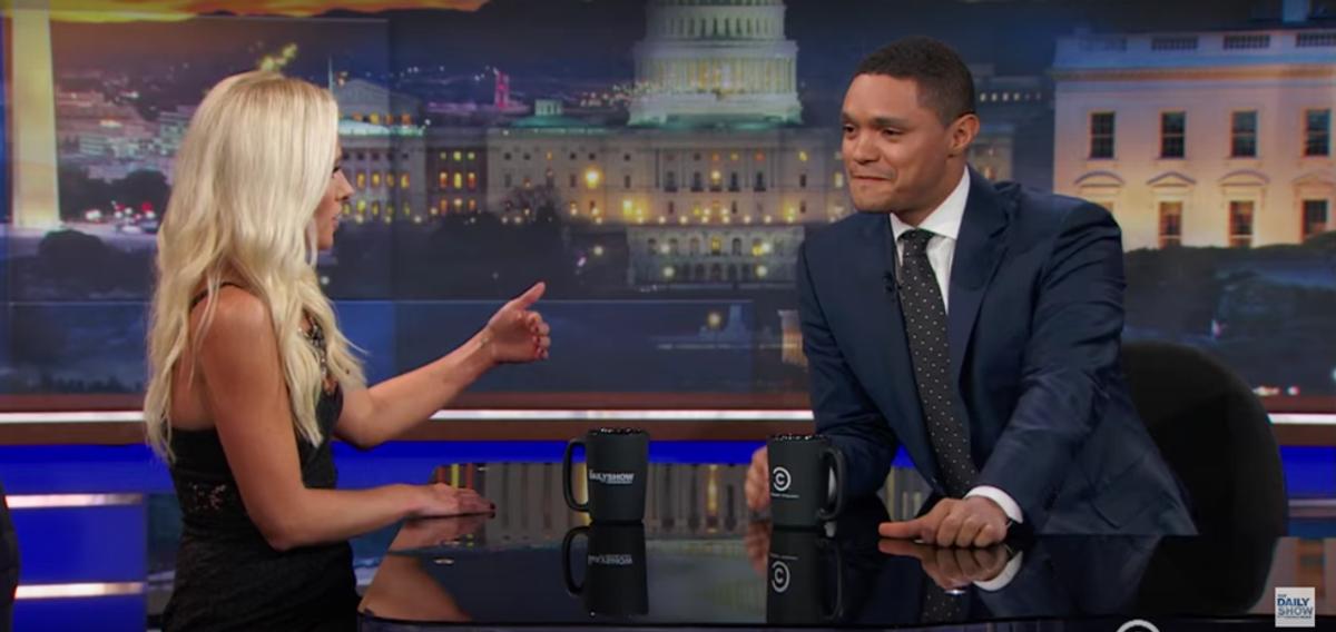 Trevor Noah vs. Tomi Lahren: Television Host Showdown