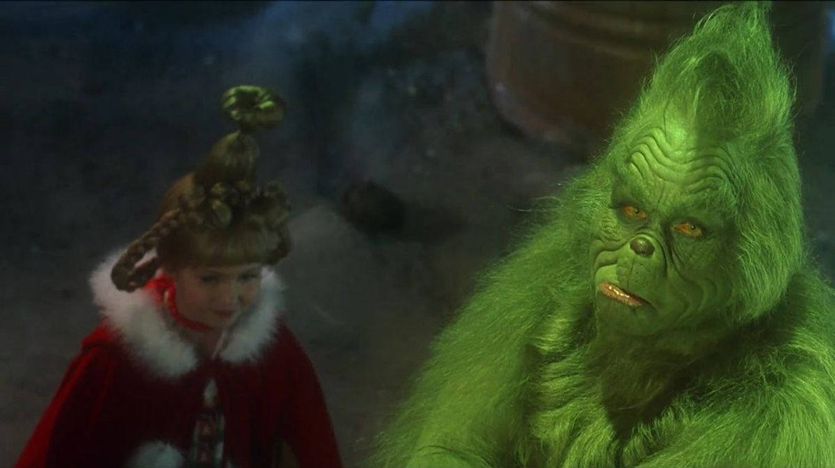 The Fall Semester of College as Told by the Grinch