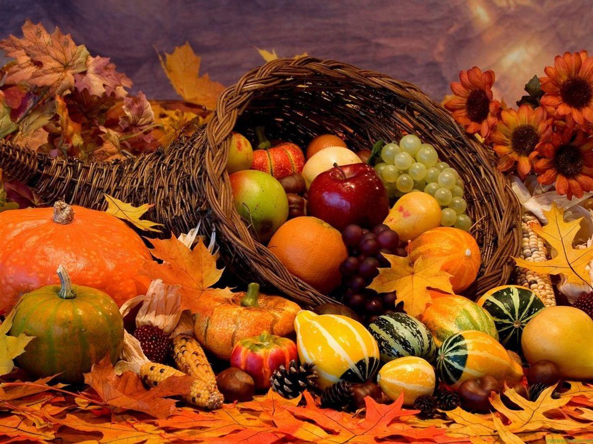 I'm Thankful For Thanksgiving