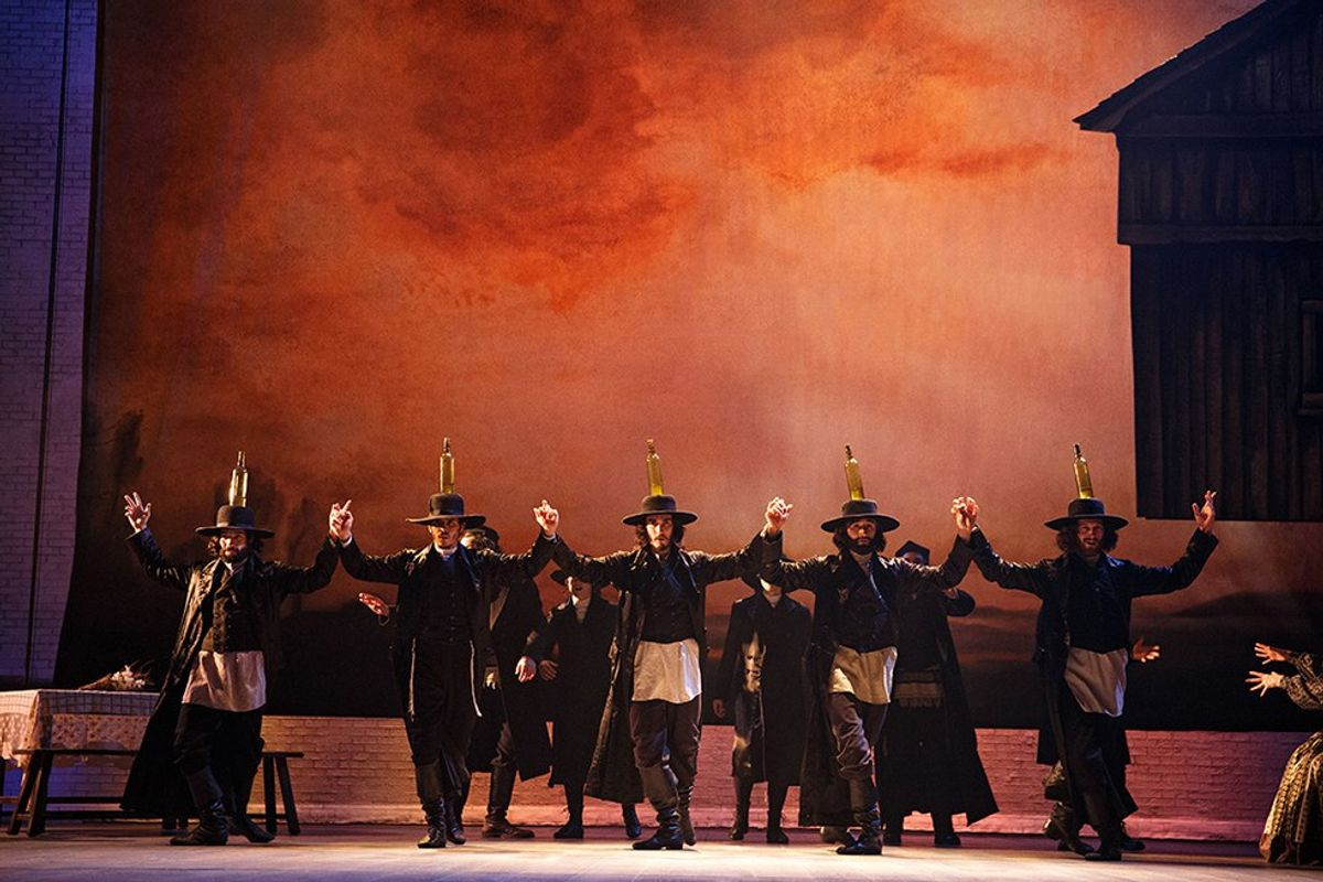 """A Review of Broadway's """"Fiddler on the Roof"""""""
