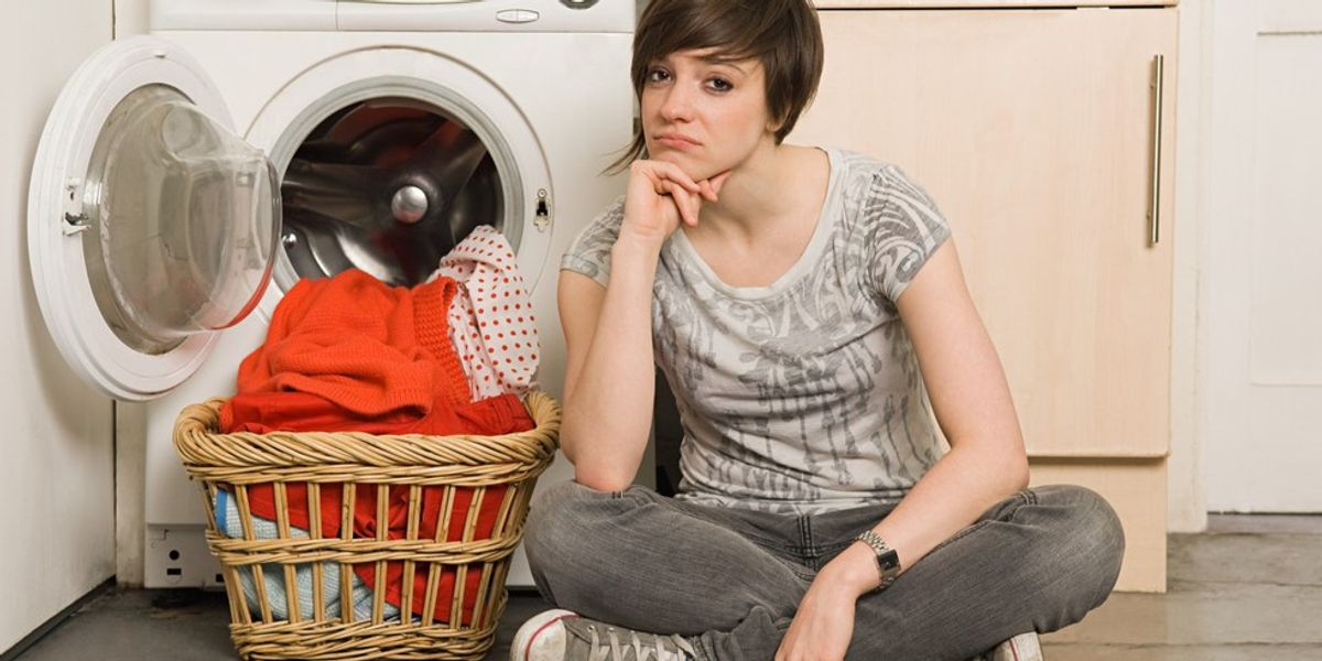 6 Stages Of Doing Laundry At College