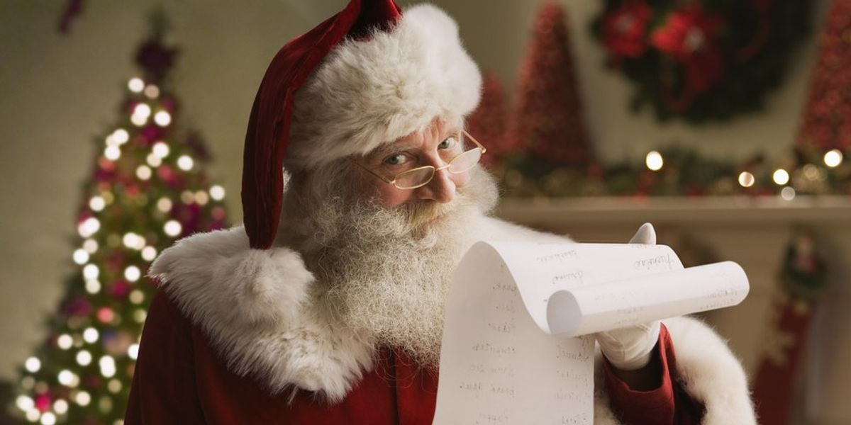 Santa's Big Night: A Christ-Math Miracle
