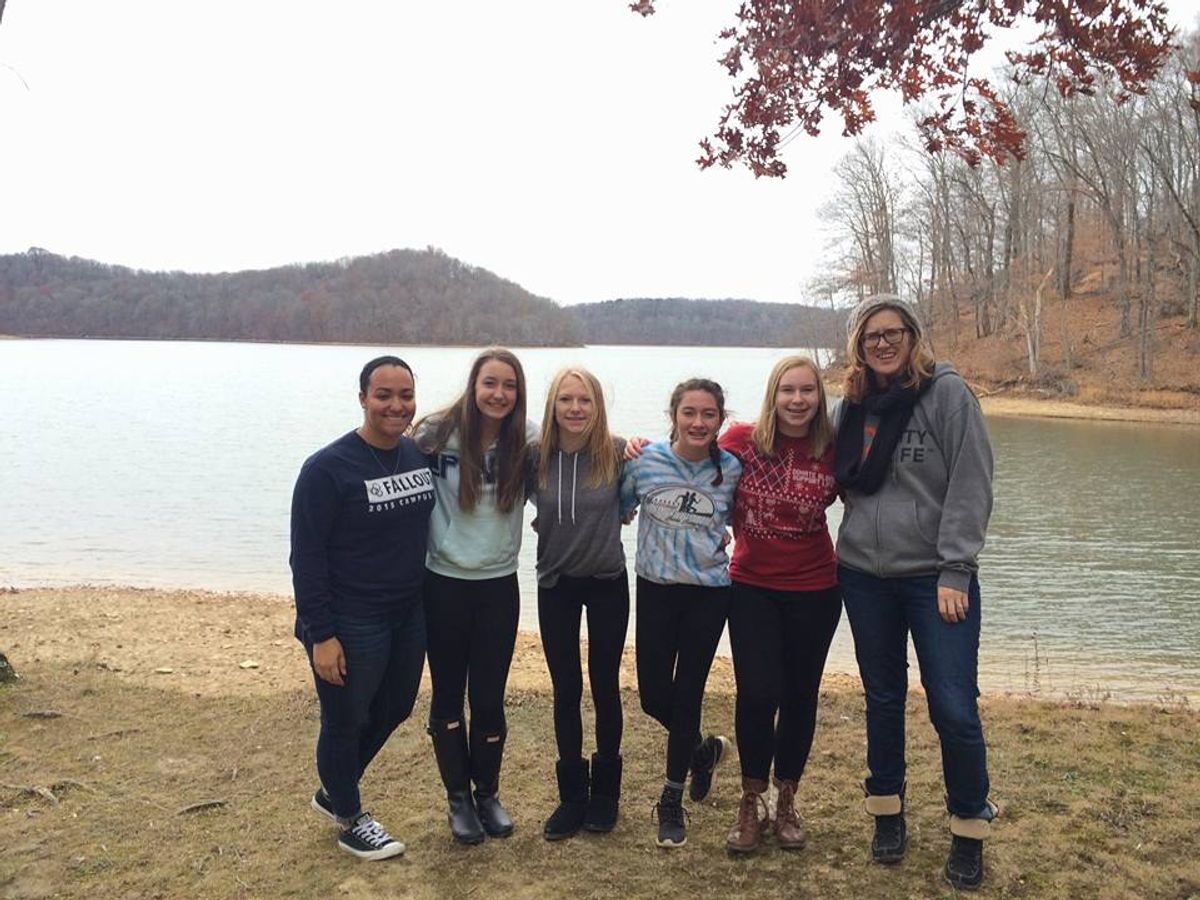 Awkward Duck Runs And More: A Weekend With Freshman Girls