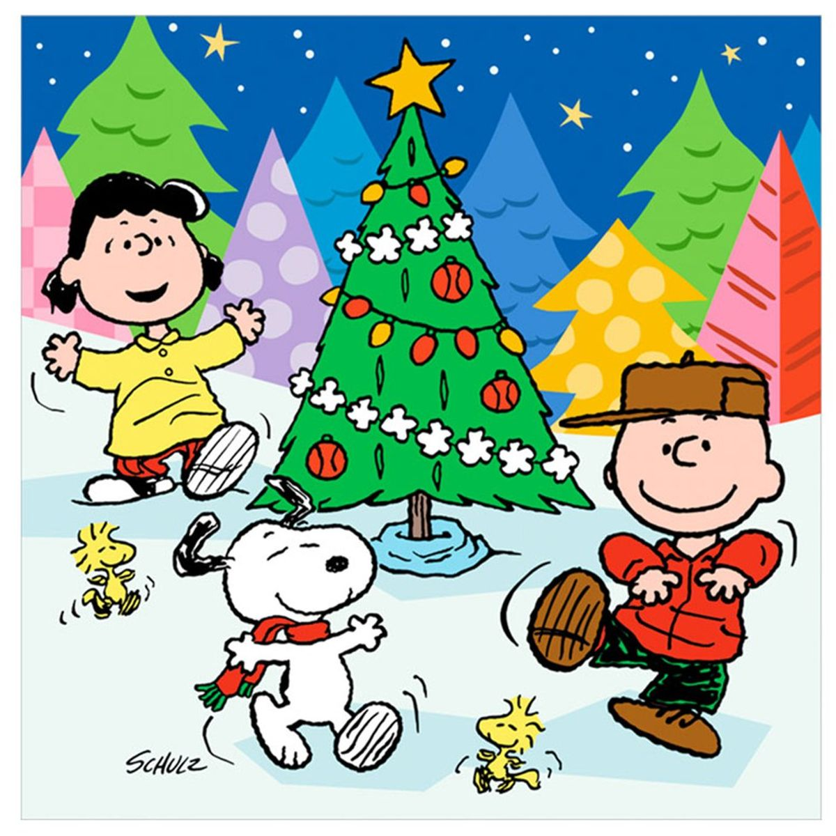 My Favorite Things About The Christmas Season (As Told By The PEANUTS Characters)