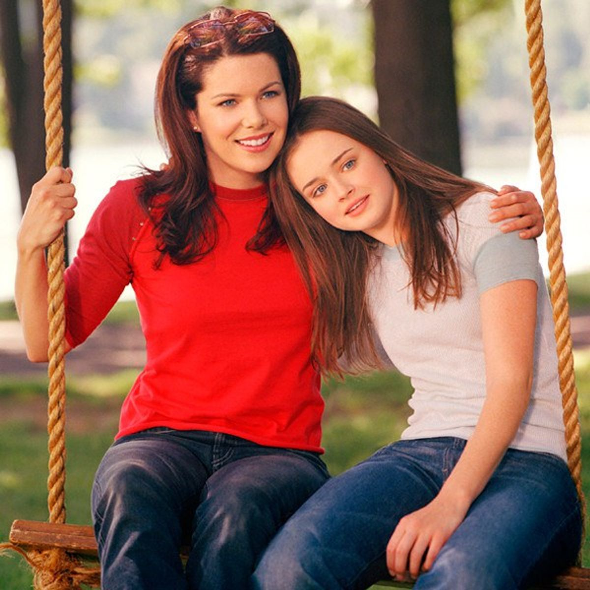 Long Flights As Told By The Gilmore Girls