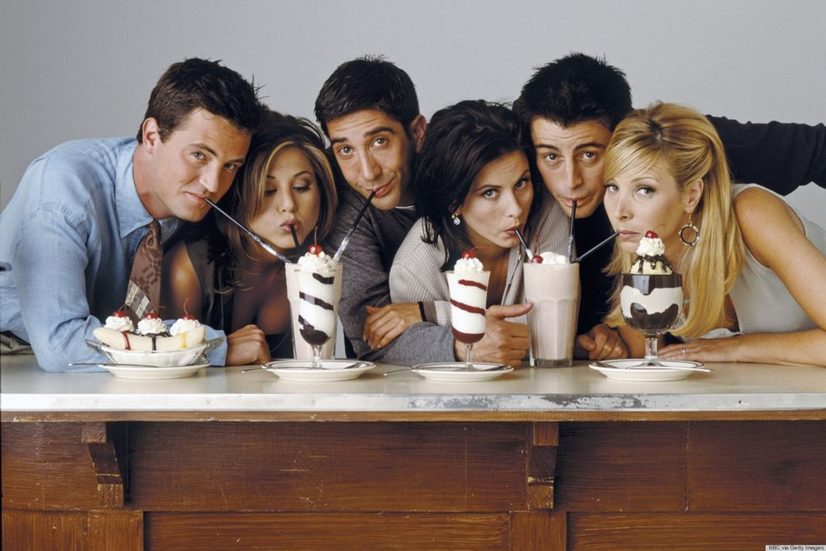 December In College As Told By The Cast Of Friends