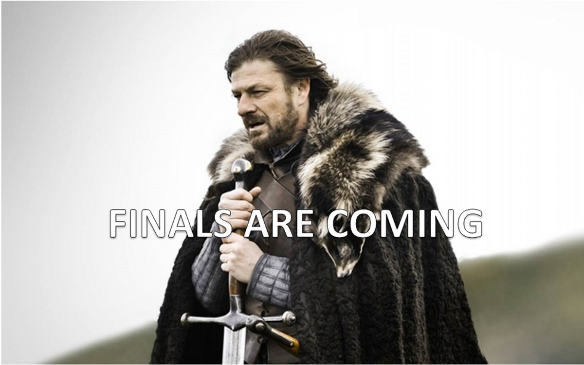 Finals: 'Game of Thrones' Edition