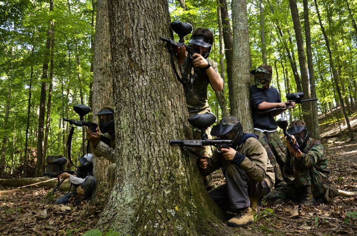 5 Reasons Why You Should Play Paintball