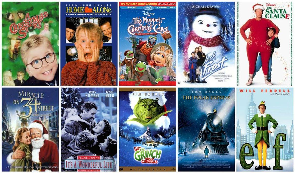 The Top 10 Christmas Movies