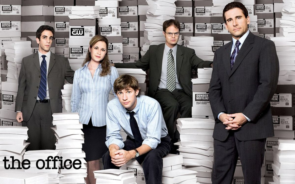 Finals Week As Told By The Office