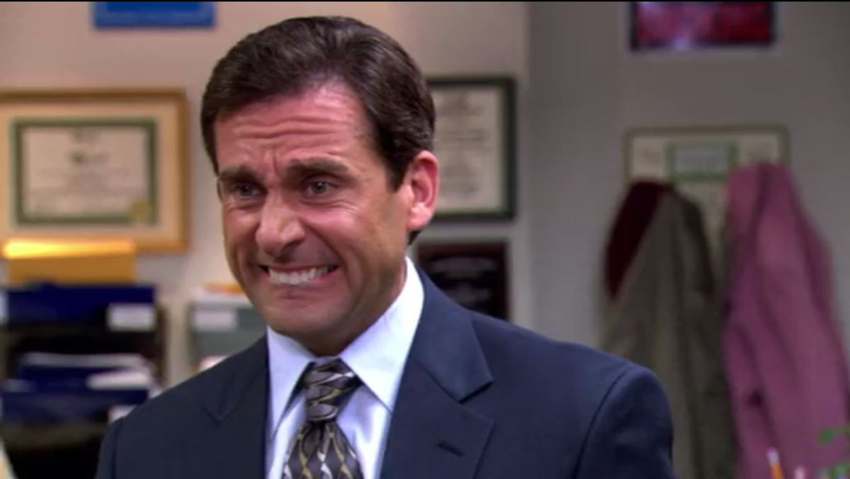 Finals Week As Told By Steve Carell GIFs