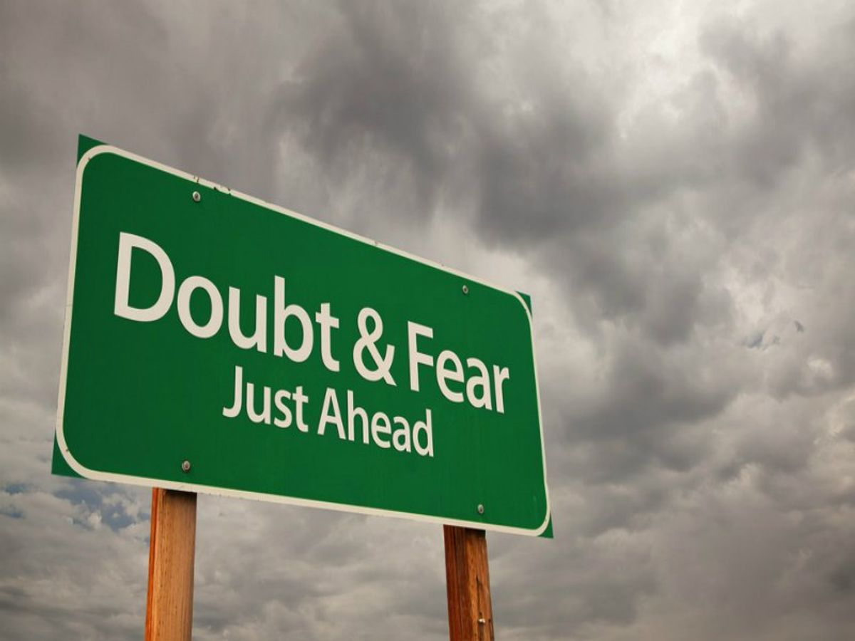 Why Self-Doubt Is Normal For Artists