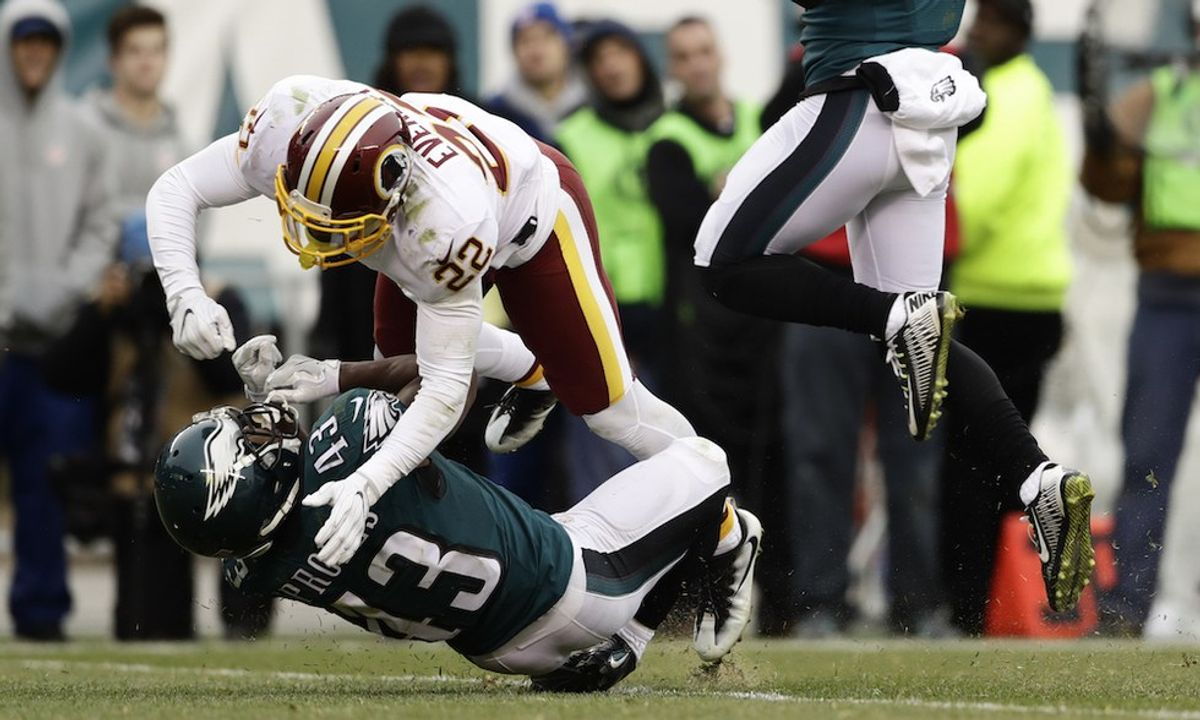 Eagles Get Close, But Can't Finish Off The Comeback In 27-22 Loss To The Redskins.