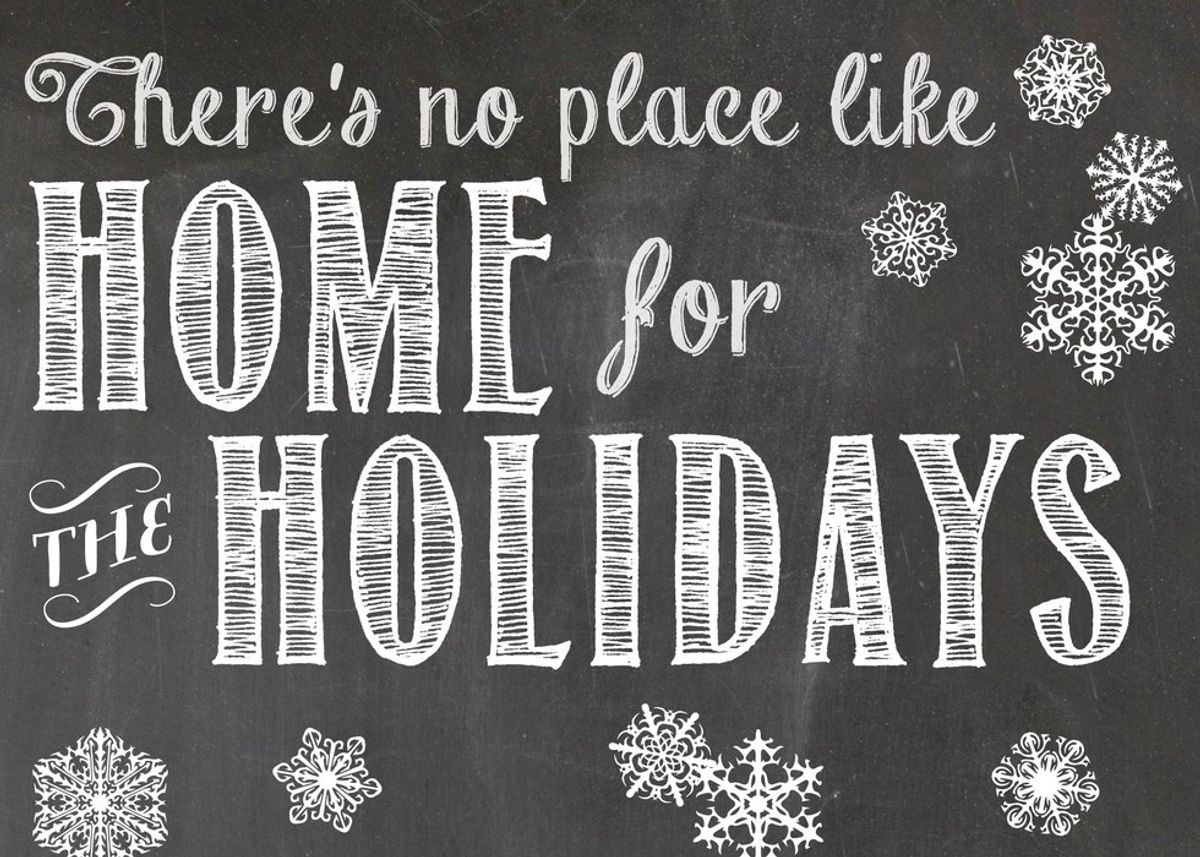 12 Things To Do When Home For The Holidays