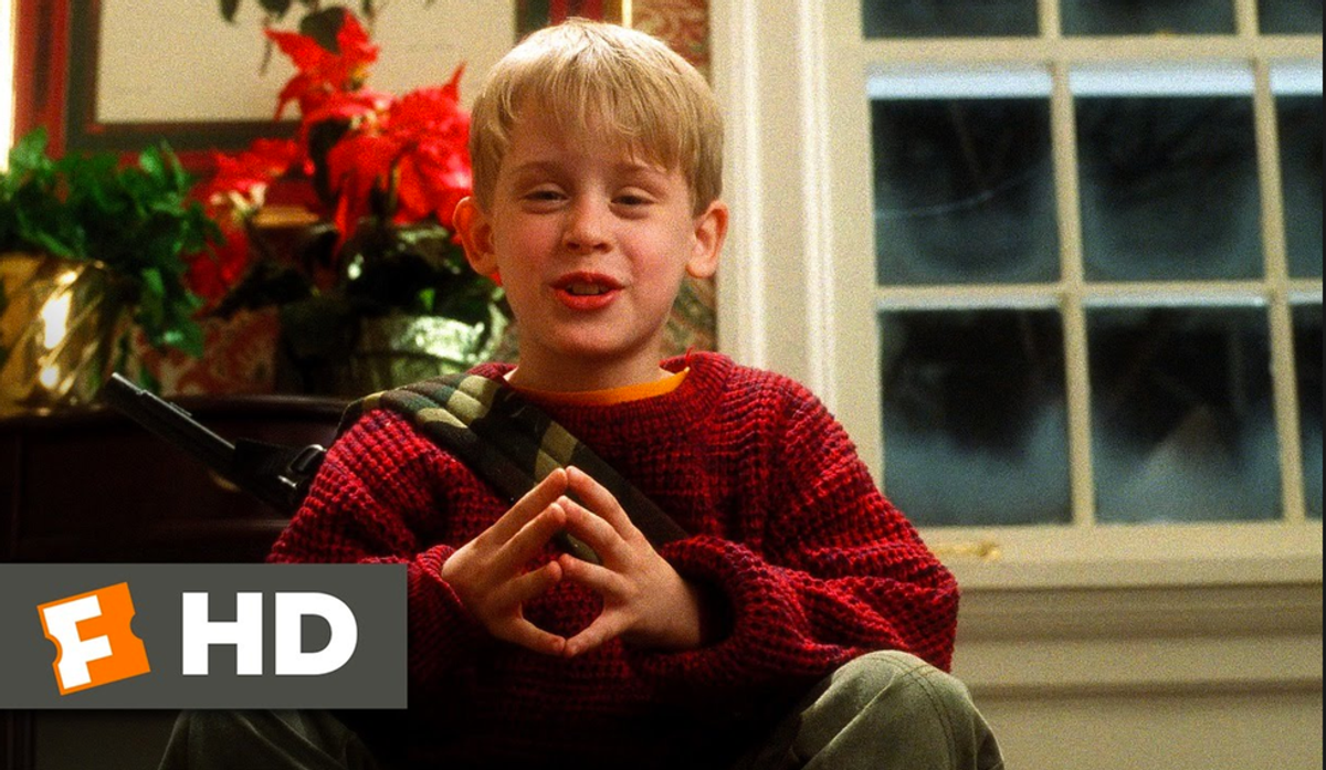 Winter Break As Told By The Home Alone Movies