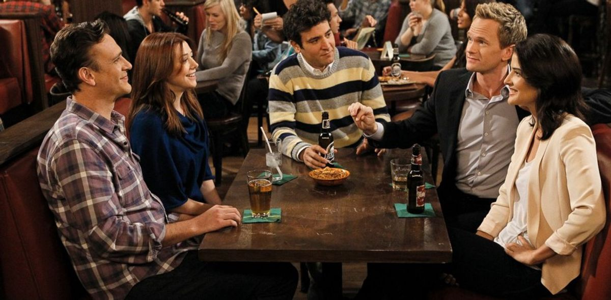 """Making Christmas Cookies As Told By """"How I Met Your Mother"""""""