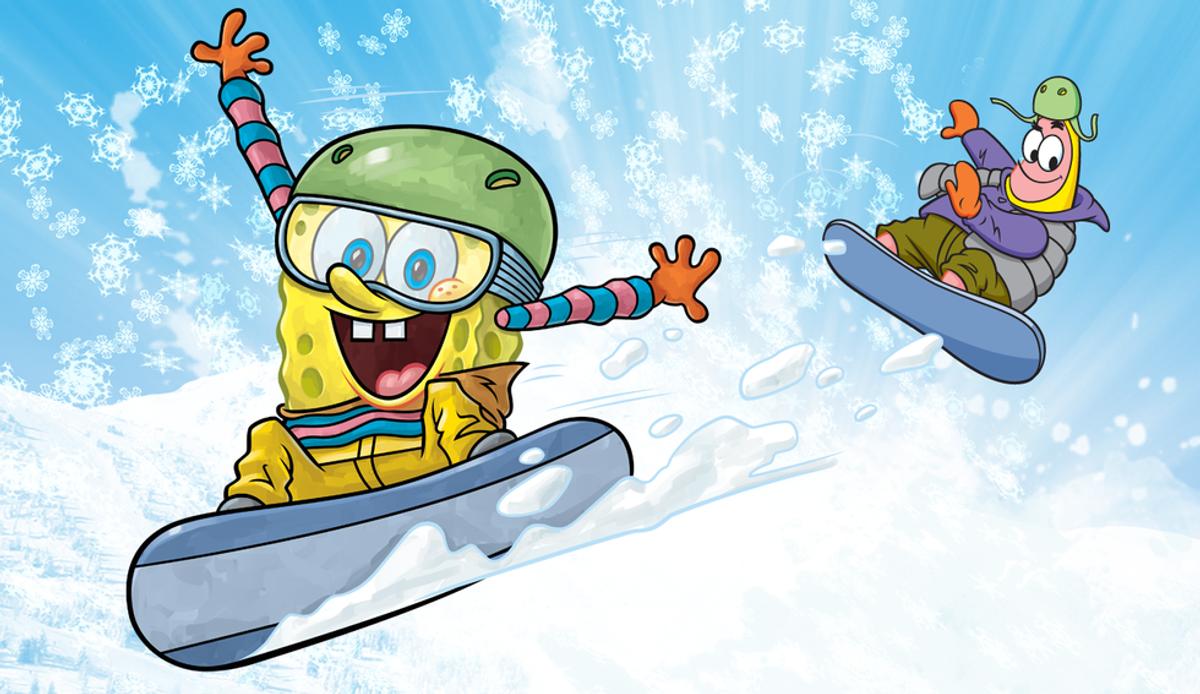 Winter Break as Told by Sponge Bob