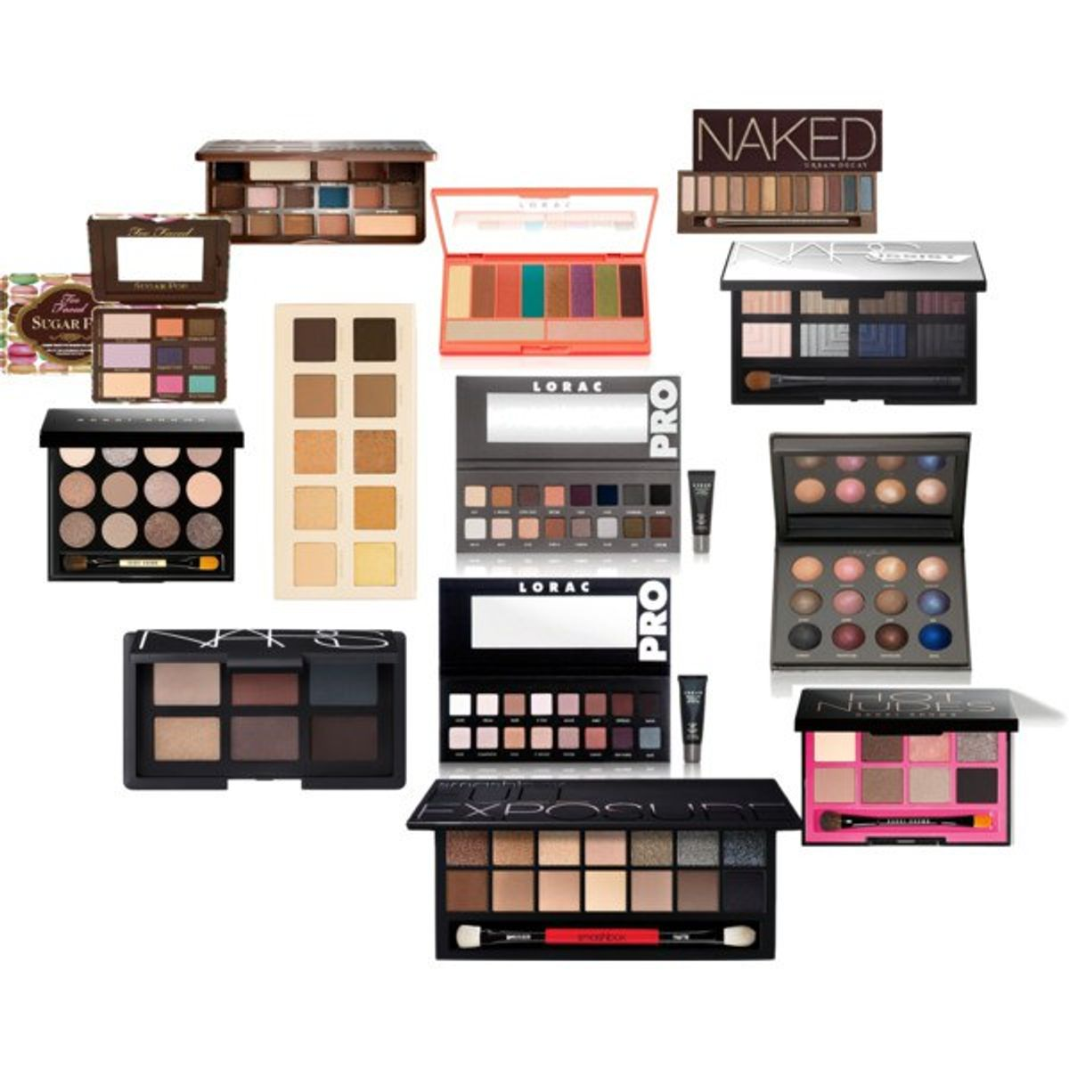 4 Eyeshadow Palettes You Need to Own