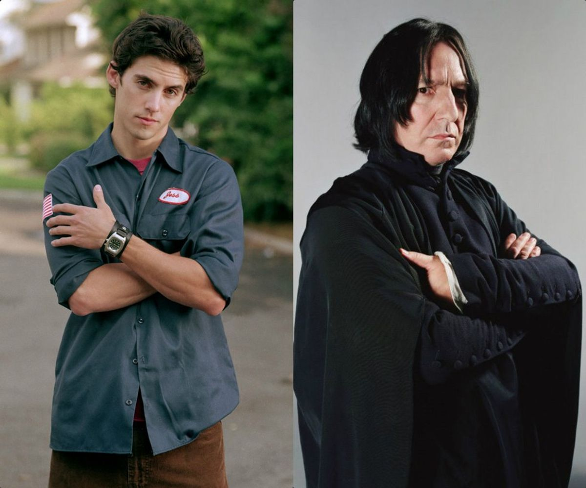 5 Reasons Jess From Gilmore Girls Was Actually Severus Snape