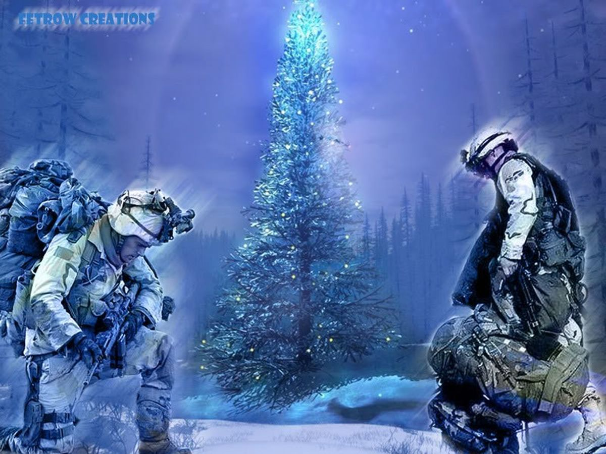 The Best Gift On Christmas: Troops Coming Home