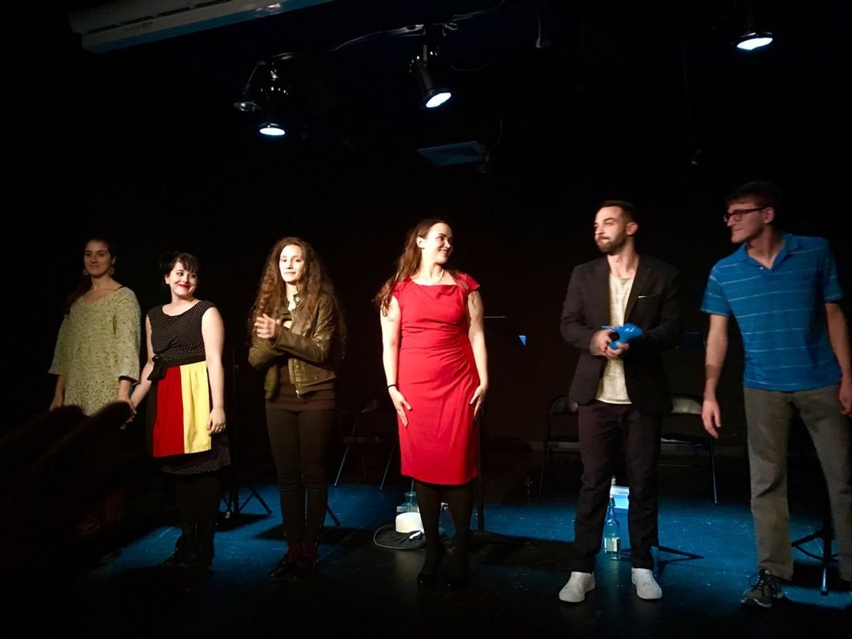 """Theatre Review: """"Medea's Feet"""" Comes to NYC"""