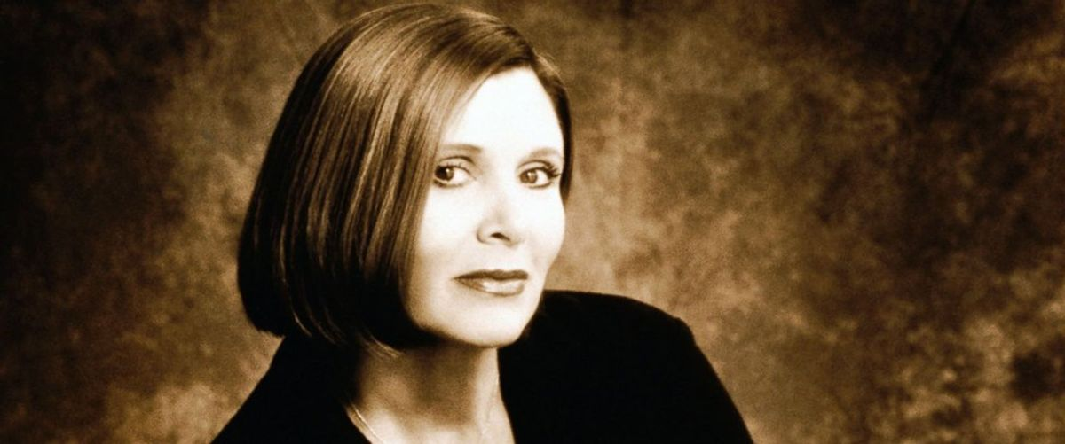 Remembering Carrie Fisher As More Than Just An Icon