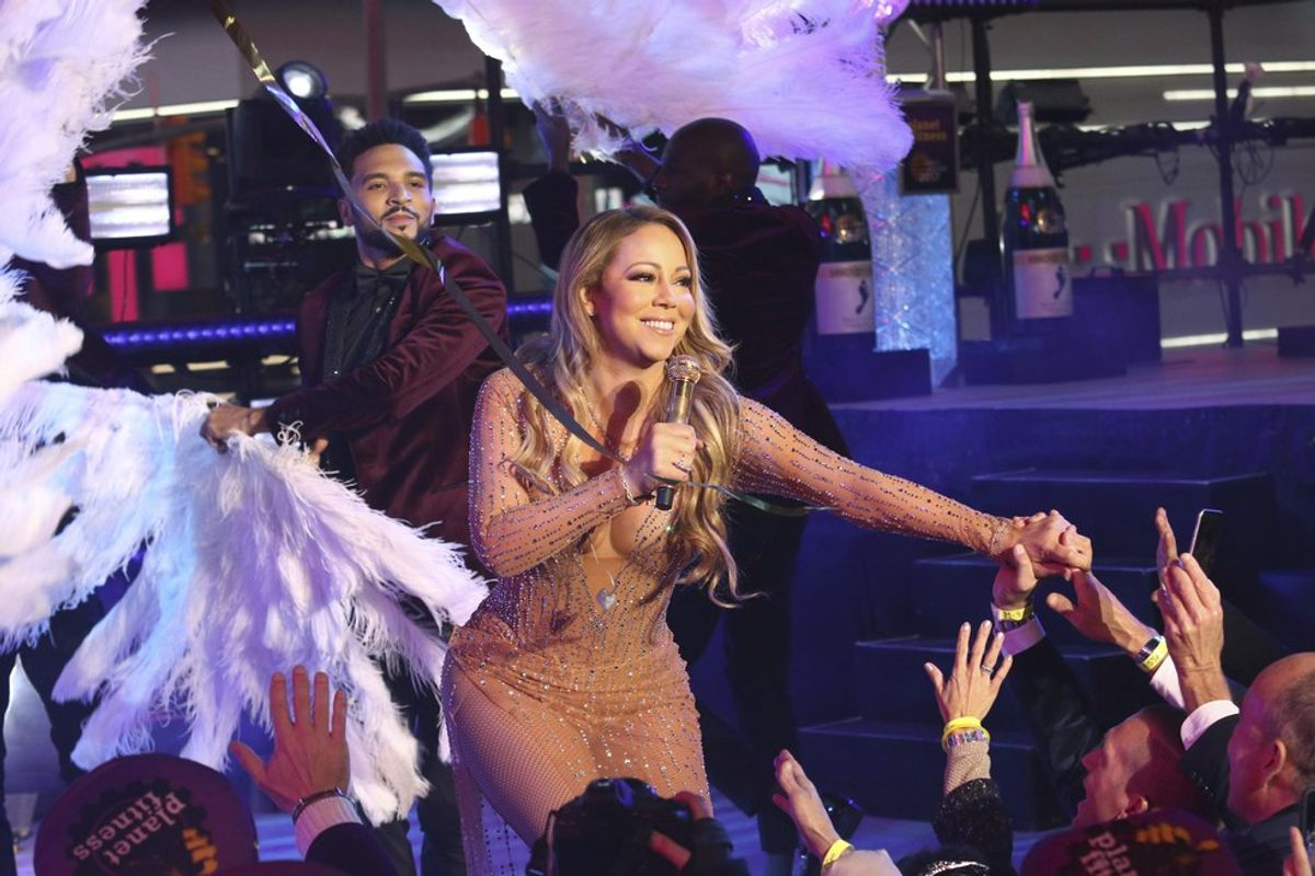 Let's Talk About Mariah Carey's NYE Performance