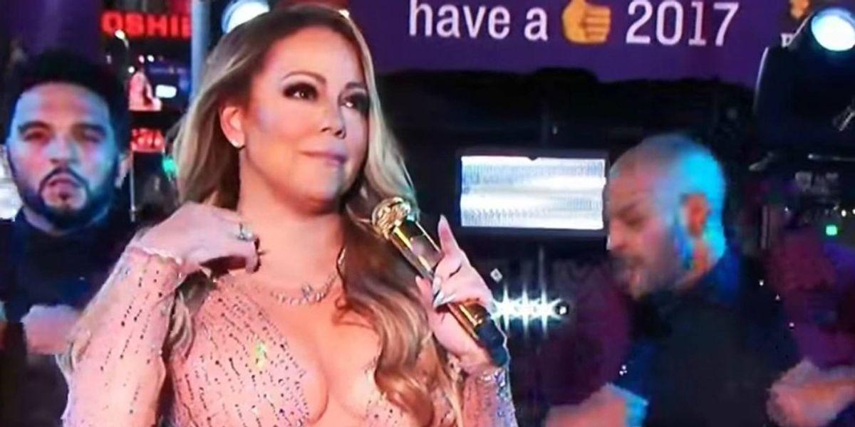 Mariah Carey's NYE Performance In 20 GIFs