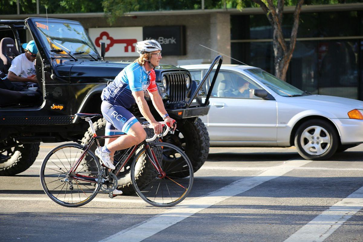 Dear Bicyclists, Get The F*ck Off The Road