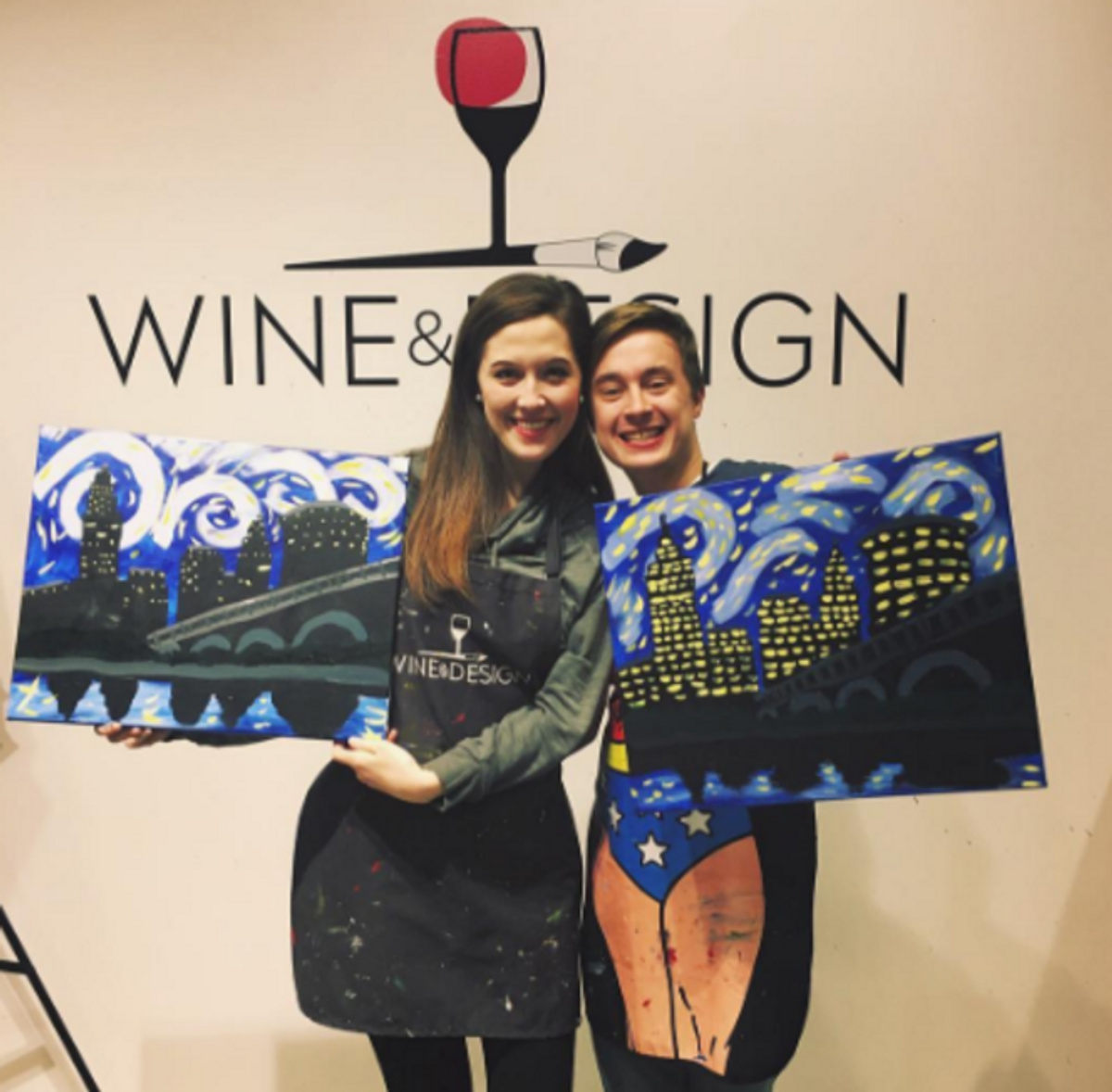 A 'Paint And Sip' Class Is The Best Decision You'll Make
