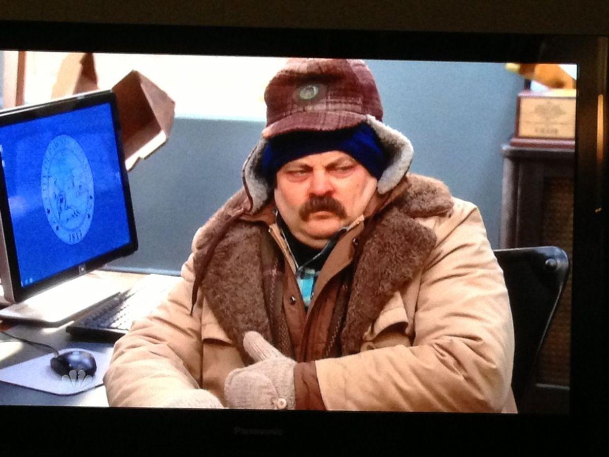 Winter Break Told By Parks & Rec