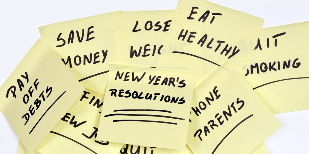 Why New Year's Resolutions Suck