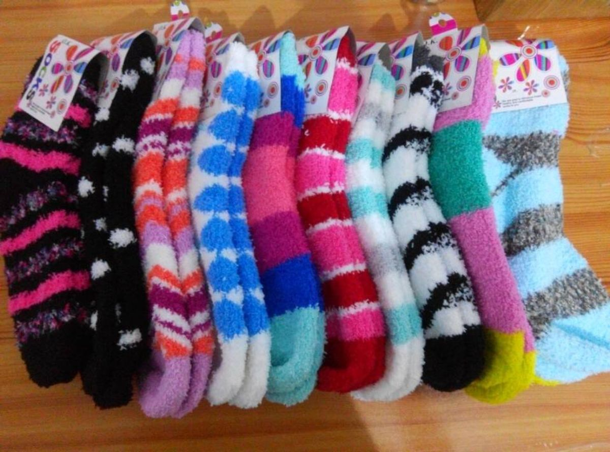 For The Love Of Fuzzy Socks
