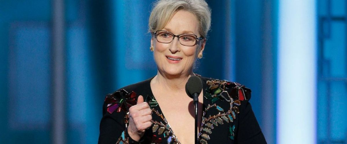 An Open Letter to Meryl Streep From Someone Who Didn't Vote For Trump