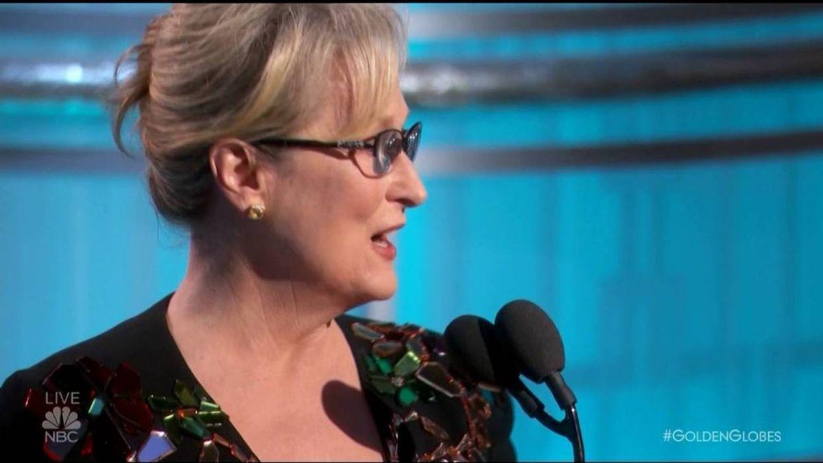 What Meryl Streep Got Wrong In Her Golden Globes Speech