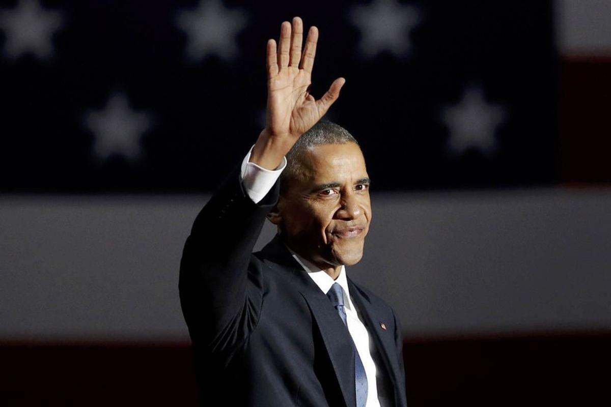 A Final Farewell To President Obama