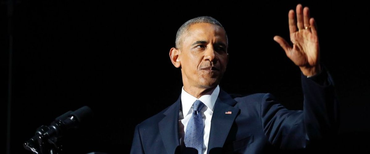 The President's Farewell Address Through The Eyes Of An Obama Supporter