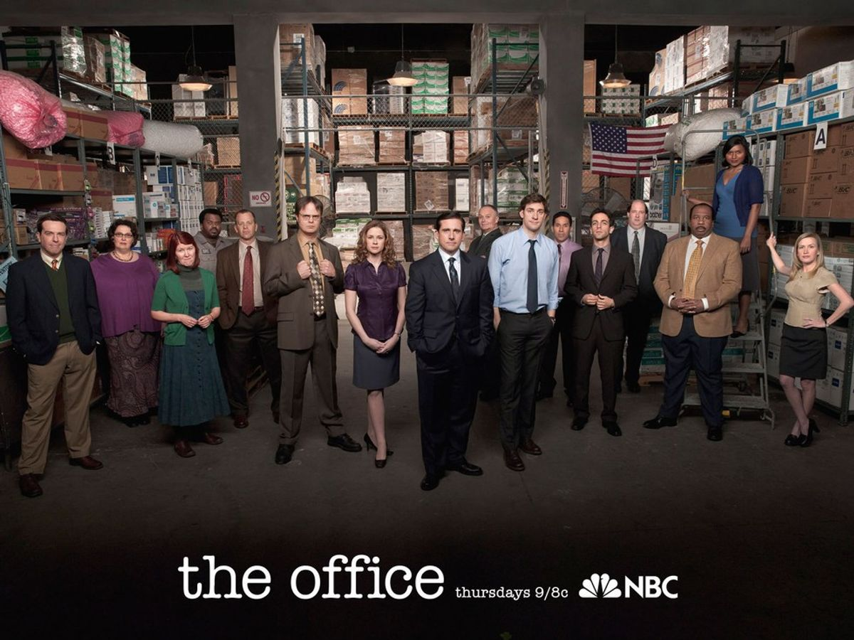 """The Days Of The Week As Characters From """"The Office"""""""