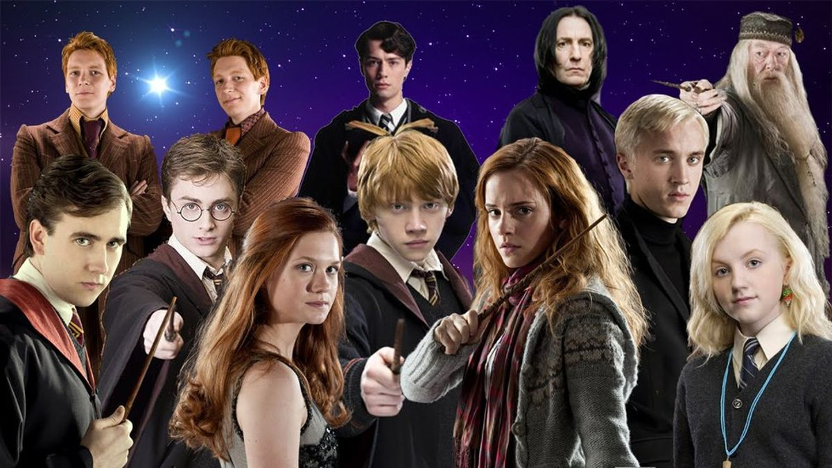 What The Characters Of Harry Potter Would Major In If They Went To College